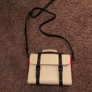 Pixie Mood Bags - Black white and red purse